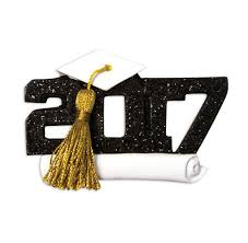 personalized 2017 graduation ornament college