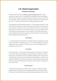 how to write an executive summary for a report happycart co