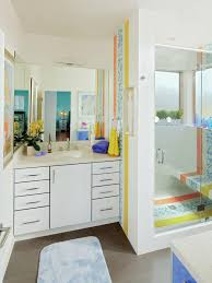 Mid Century Modern Bathroom Design Square White Porcelain Sink Mounted Mid Century Modern Bathroom