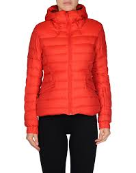 the north face w moonlight jacket waterproof down red women coats