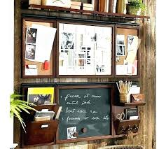 Home Office Wall Organizer Pottery Barn Office Organizer Pottery