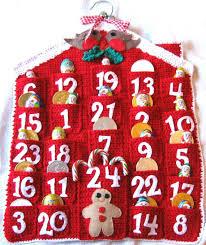 christmas calendar advent calendar crochet pattern christmas holidays pdf instant
