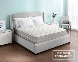 Pillow Top For Sleep Number Bed | p5 performance series plush pillowtop mattress bed base sleep