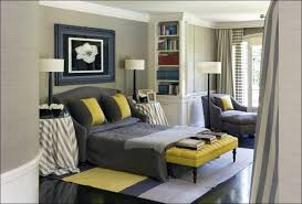 bedroom curtains for yellow room blue yellow and grey decor grey