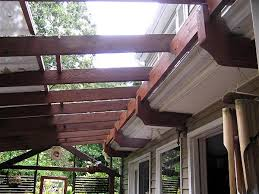 Attached Pergola Plans by Finally A Way To Attach A Pergola To Our House W Out Taking Away