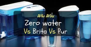 Pur Vs Brita Faucet Water Filter Zero Water Vs Brita Vs Pur U2013 A Grand Tripartite Contest Megan