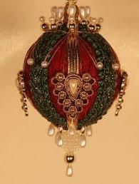 vintage ornaments lot of 2 large ornaments