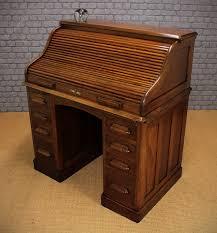 Small Oak Roll Top Desk Small Roll Top Desk Oak Home Furniture Decoration