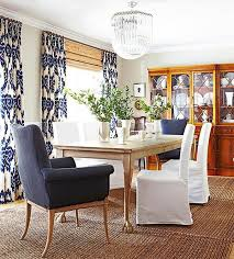 Dining Room Archives Emily A Clark - Blue and white dining room