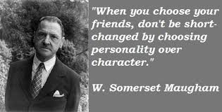 somerset maugham quotes contented traveller