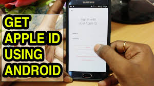 apple icloud for android how to create an apple id using android smartphone