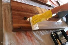 How To Finish The Top Of Kitchen Cabinets How To Finish Seal And Waterproof Wood Counters 4men1lady Com