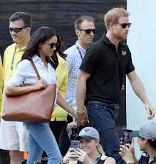 Meghan Markle Prince Harry Meghan Markle Wears Misha Nonoo U0027s U0027husband U0027 Shirt While Out With