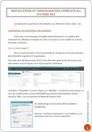 organisation bureau windows services de bureau à distance pdf