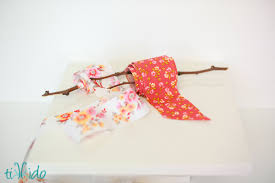 how to make fabric ribbon tikkido