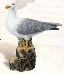 new standing seagull bird ornament arts xrl seag d in garden