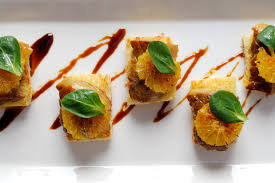 canap foie gras foie gras on toasted brioche orange great chefs