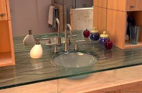 fresh ideas glass bathroom sinks and vanities tempered glass sink