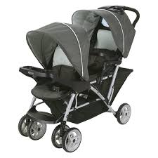 graco ready 2 grow duo lx stroller click connect hayneedle