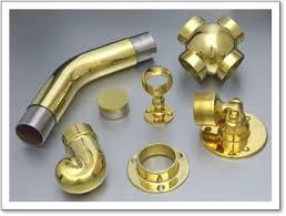 Banister Fittings Brass Handrails
