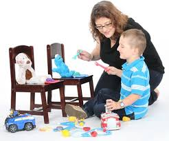 encouraging pretend play in children with autism or social