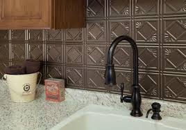 Metal Kitchen Tiles Backsplash Ideas Roselawnlutheran - Metal kitchen backsplash