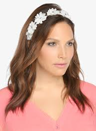 elastic headband torrid chiffon flower elastic headband where to buy how to wear