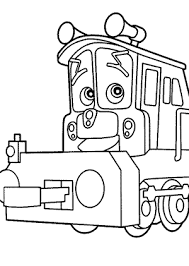 chuggington coloring pages calley kids printable free