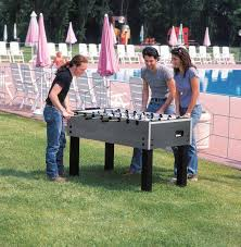garlando outdoor foosball table garlando g500 weatherproof football table outdoor table garlando