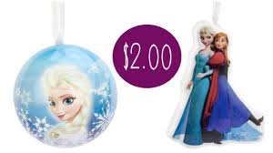 disney frozen tree ornament 2 00 at target coupon