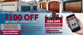 California Overhead Door On Trac Garage Door Company Southern California Garage Doors