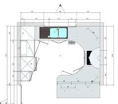 largeur cuisine plan de travail 80 cm largeur plan de travail cuisine 11 ordinaire