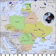 Eastern European Map by Eastern Europe Public Domain Maps By Pat The Free Open Source