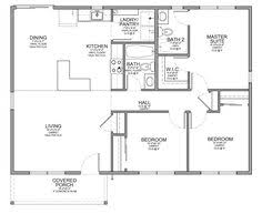 3 bedroom cabin floor plans floor plan for a small house 1 150 sf with 3 bedrooms and 2 baths