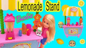 barbie sister doll chelsea lemonade stand playset toy