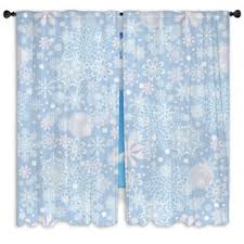 snowflake custom size window curtains