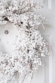 best 25 white wreath ideas on pinterest white christmas
