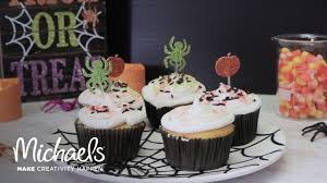 Easy Halloween Cup Cakes by Easy Halloween Cupcakes Michaels Youtube