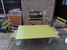 new john lewis arc en ciel folding table 2 chairs garden patio