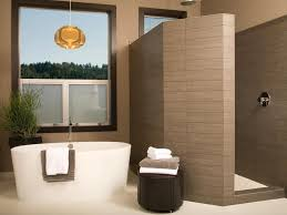 delightful modern spa like bathroom ideas with oval standing tub