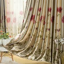 Curtains 95 Ffmode Flowers And Butterflies Blackout Curtains Grommet Top 52