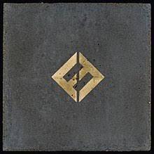 gold photo album concrete and gold