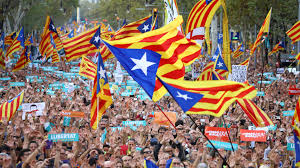 Flag Of Catalonia Spanish Senate Counters Independence Movement With A U201cseize Of