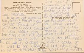 Blind Write Postcard From Blind Bay Bc U2013 Tracy Hyatt