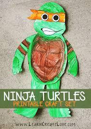 ninja turtle printable crafts