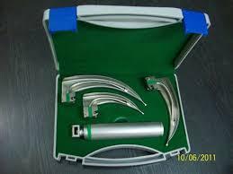 fiber optic laryngoscope miller set also led shop for sale in