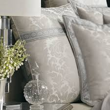 sienna comforterding by j queen new york white and silver o064