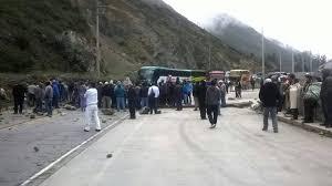 cerro de pasco noticias de cerro de pasco diario correo cerro de pasco paro de agricultores bloqueando carretera central