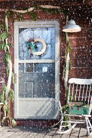 rustic christmas porch and whisky barrel decor creative cain cabin