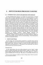 joints for high pressure closures springer
